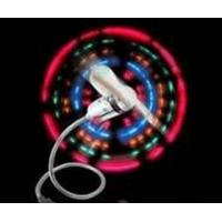 Led light computer usb fan with 126 characters,6 messages maximum for notebook or pc Manufactures