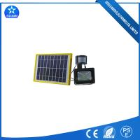 China IR Sensor/Induction Remote Control 10W Solar Flood LED Outdoor Lighting White Light 6500K IP65 800 Lumen on sale