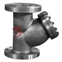 China A351 CF8M 300LB Y Type Strainer , Stainless Steel Y Strainer Flange Type on sale