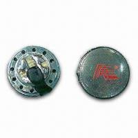 Mylar Speakers for Telecommunications, with Transparent Cone and Metal Cover Manufactures