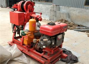 GK200 Water Well Drilling Rig 200m Drilling Depth For Road / Railroad Construction Manufactures