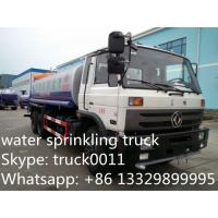 best selling factory sale best price dongfeng 153 15,000L cistern truck, dongfeng 4*2 LHD/RHD water tank truck Manufactures