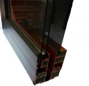 Quality Broken Bridge Heat aluminium profiles for windows and doors for Kitchen for sale