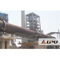 China 0.16-1.62 r/min Limestone Rotary Lime Kiln Equipment for Refractory Material on sale