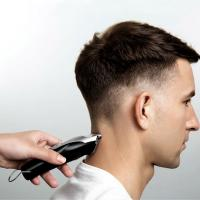 China Low Noise Hair Cutting Machine , Cordless Hair Trimmer T - Shaped Cutter Head on sale