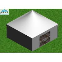 Summer Outdoor Event Tent 5x5m With White PVC Walls / Party Tent Marquee Manufactures