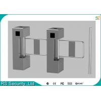 Pedestrain Supermarket Swing Gate, Access Control Turnstiles Swing Barrier Manufactures