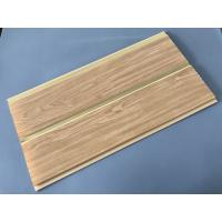 250 × 7 MM × 5.95M PVC Wood Panels Middle Groove Shape Easy Installation Manufactures