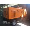 Portable Diesel Engine Driven Screw Air Compressor 550CFM 13 Bar 188Psi Trailer Type Manufactures
