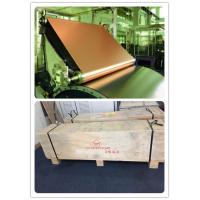 Buy cheap Electrolytic Copper foil rolls with thickness 35 micron  for copper clad laminates/CCL from wholesalers