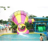 Quality Anti - Static Tornado Water Slide Oxidation Resistant Stainless Steel Structure for sale