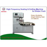 Semi Auto High Frequency Blister Packing Machine For Big Toys Blister Pack Manufactures