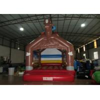 Buy cheap Simple inflatable horseman bouncer house 0.55mm PVC inflatable horse jump house for supply from wholesalers