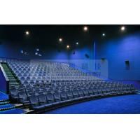 Removable 3D theater seating system for 6 / 12 / 50 Persons , Attractive 4D 5D motion movies Manufactures