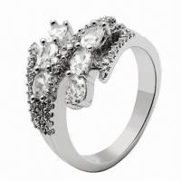 Silver Ring, Customized Designs Welcomed Manufactures