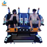 Buy cheap 42 Inches Virtual Cinema Machine 9d Vr Simulator Double Players 4 Dynamic from wholesalers