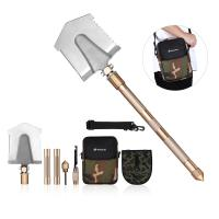 Multifunctional Outdoor Leisure Products All In One Military Shovel Foldable And Portable Manufactures