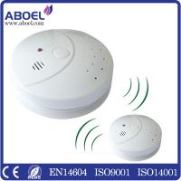 Quality Fire Alarm Wireless Photoelectric Smoke Detector For Home , Hotel EN14604 for sale