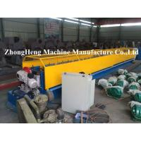 Metal Down Pipe Roll Forming Machine CNC Tube Bender With Elbow Machine ISO / CE Manufactures