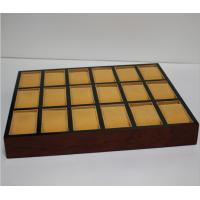 Buy cheap High Quality Wooden Bracelet Box Jewellery Packaging Storage Tray For Watch from wholesalers