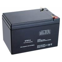 Rechargeable 6FM14 14AH / 15ah SMF Lead Acid Battery 12V For Telecommunication System Manufactures