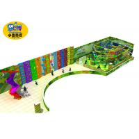 Kindergarten Indoor Rock Climbing Wall For Kids High Capacity Eco - Friendly Manufactures