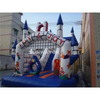 Fairy Tale Style Kids Commercial Inflatable Slide With Jumping Castle Bouncer Combo Manufactures
