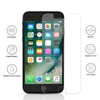 9H Full Tempered Glass Bubble Free Iphone Screen ProtectorCase Friendly Manufactures