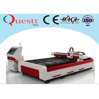 Buy cheap Industrial Laser Cutting Machine 2000W For SS Iron , High Power 3 Axis Laser Cutter from wholesalers
