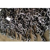 AM2 AM3 Grade Marine Anchor Chain Black Coated With DNV-GL Certificate Manufactures