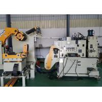 High Speed Hydraulic Expansion NC Servo 3 In 1 Decoiler Straightener Feeder Matched Big Punching Machine Manufactures