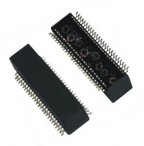 China POE Ethernet transformer 10 / 100Base-T Lan Magnetics 50Pin Modules on sale