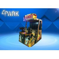 Indoor Adult Rambo 2 Shooting Arcade Machines Coin Operated Hardware Material Manufactures