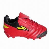 FG Sport Soccer Shoes Men Outdoor Football Shoe, TPU Sole/Artificial Leather/Customized Upper Design Manufactures
