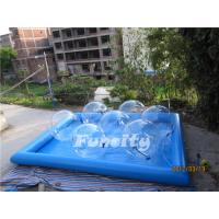 Good Quality Transparent Inflatable Aqua Walking Ball with Water Pool for Kids and Adults Manufactures