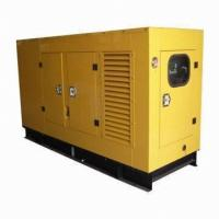 300Kw 375Kva 50HZ Canopy Genset Silent Generator Set Cummins Engine For Outside Projects GP C300-2 Manufactures