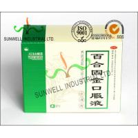 Recycled Medicine Packaging Box With Barcode White Color Glossy Finished Manufactures