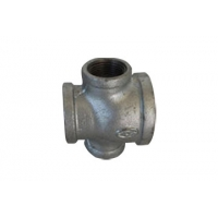 Cross Galvanised Malleable Iron Pipe Fittings Manufactures