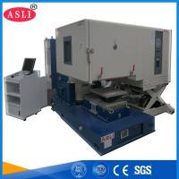 HALT / HASS Environmental Climatic Temperature Combined Vibration Chamber Accelerated Stress Life Testing Manufactures