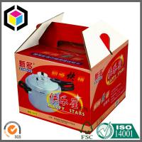 Gable Corrugated Packaging Box; Custom Color Print CMYK Portable Packaging Box Manufactures