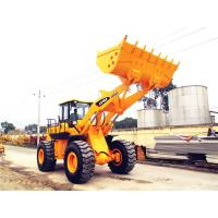 China Chinese heavy machinery 5 ton front end loader with optional joystick control and air-conditioner on sale