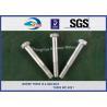 Buy cheap DIN931 / DIN933 ASTM BS GB Standard Hot Dip Zinc Custom Railway HEX Bolt from wholesalers