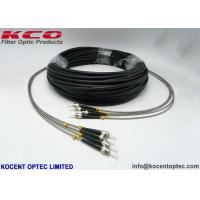 Lc To Fc 4 Core Outdoor Fiber Optic Patch Cable RRU 0.2dB Army Field