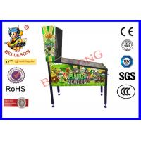 3 LED Screen Pinball Arcade Game Machine Coin Operated With Vibration Function