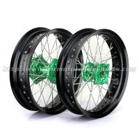 17 Inch Black Custom Motorcycle Wheel Hubs Anodized Different Color Manufactures