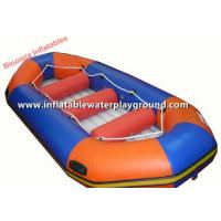Large Lake Rigid Inflatable Raft Boat , Water Sports Fly Fishing Rafts DB21 Manufactures