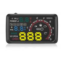 Aftermarket Heads Up Display W02 HUD ,  Multi - Function 5.5 Inch Car Head Up Display Projector Manufactures