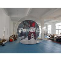 Customized Inflatable Bubble Tent With Halloween Theme Background  For Camping Party Manufactures