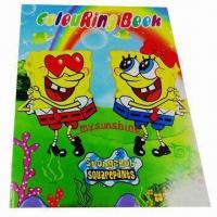 Kid's Coloring Book, Customized Designs are Accepted, Eco-friendly Manufactures