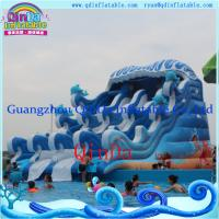 Inflatable Funny Water Slide Wet Water Slide Water Pool Inflatable Slide Manufactures